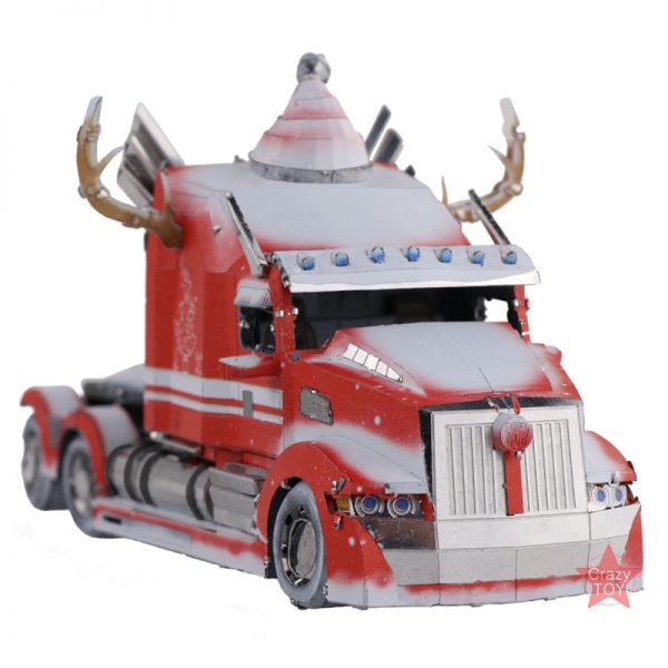MU Transformers Optimus Prime Western Star Christmas Version