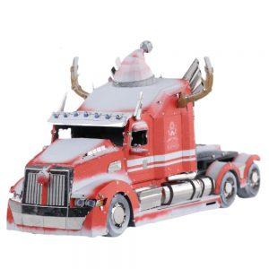 MU Transformers Optimus Prime Western Star Christmas Version