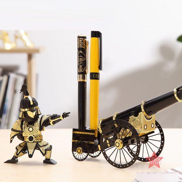 Piececool Artilleryman Style Cannon