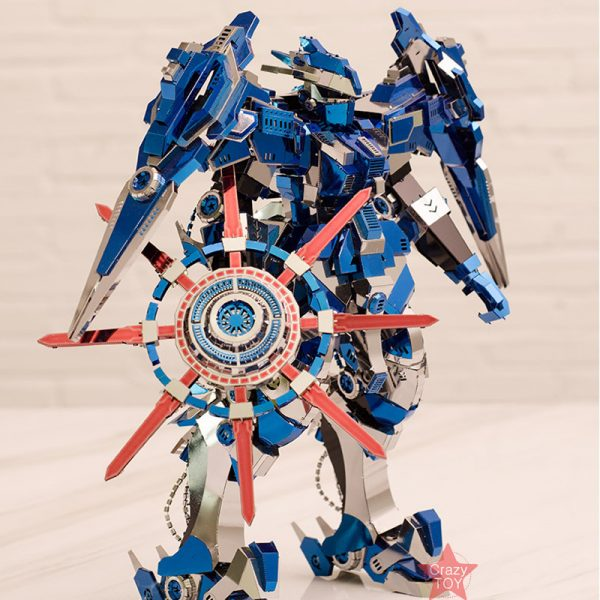 Piececool Blue Magnetic Rotation Armor