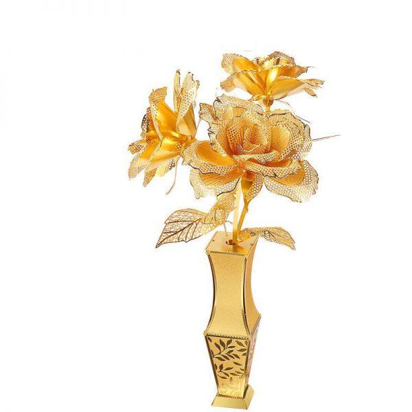 Piececool Golden Rose