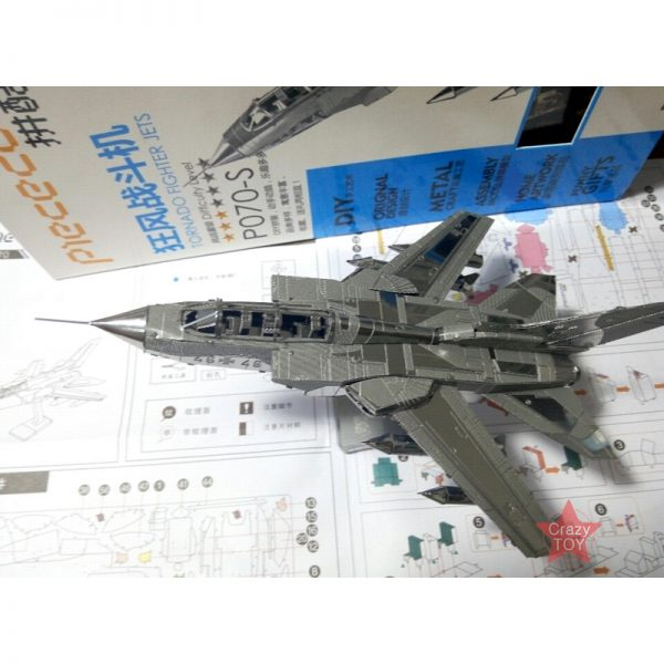 Piececool Tornado Fighter Airplane