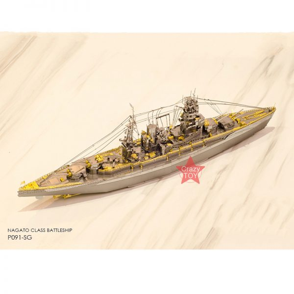 Piececool Japan Nagato Class Battleship