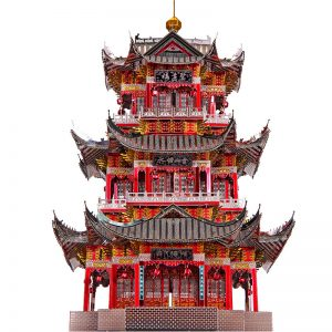 Piececool Juyuan Tower Architecture