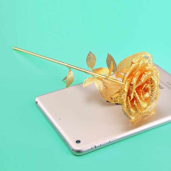 Piececool Romantic Golden Rose