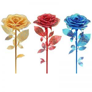 Piececool Romantic Golden Rose
