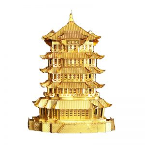 Piececool Yellow Crane Tower